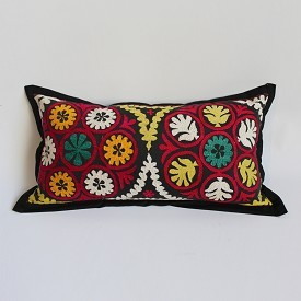 Uzbekistan Embroidered Pillow