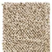 Poly Wool Shaggy Rug Marshmallow