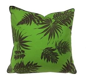 Down FIlled Fern Green Pillow