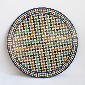 Round Mosaic Bistro Table 51