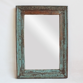 Vintage Window Mirror Frame
