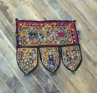 Mirror Work Embroidered Fabric