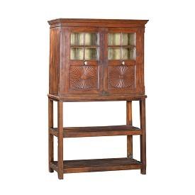 Antique Kitchen and Bath Cabinet