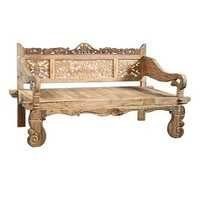 Carved Teak Daybed