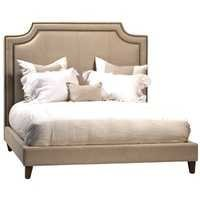 Linen Upholstered Bed Frame
