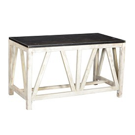 Writing Table with Iron Top