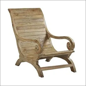Teak Wood Lounge Chair