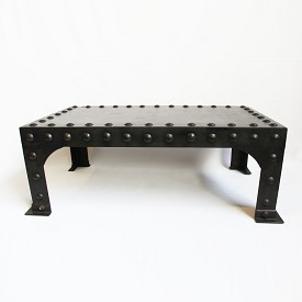 Iron Rivet Coffee Table