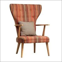 Domino Upholstered Arm Chair