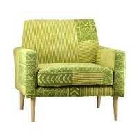 HAND WOVEN KILIM ARM CHAIR
