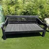 Blackened Teak Daybed