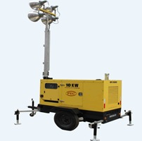 Diesel Mobile Light Tower
