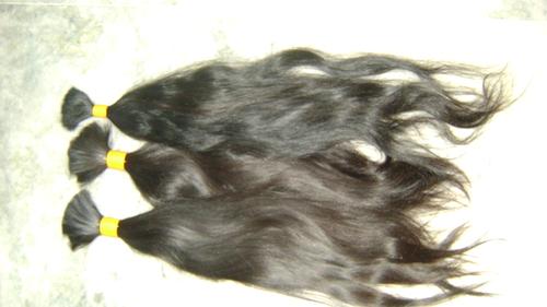 stright bulk hair