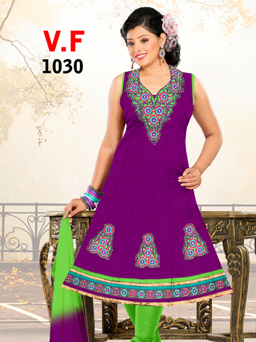 Readymade Printed Salwar Suits