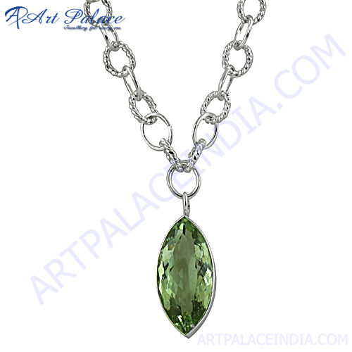 Green Amethyst And Marquise