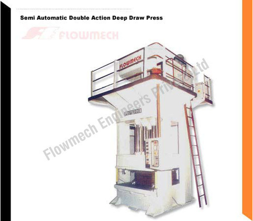 Semi Automatic Double Action Deep Draw Press