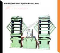 Multi Daylight 2 Station Hydraulic Molding Press