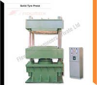 Solid Rubber Tyre Moulding Press