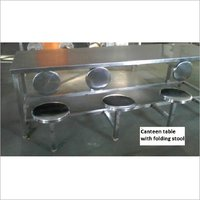 Metal Canteen Table
