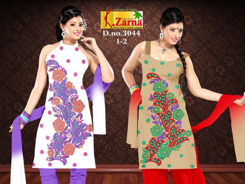 Unstitched Formal Salwar Suits