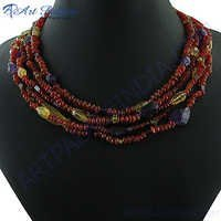 Hot Fashion Multi Layer Beaded Necklace