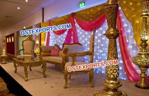 Stylish Wedding Stage Decorations