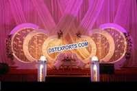 Exclusive Wedding Stage Backdrop Decorations