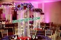 Indian Wedding Hanging Crystal Centerpiece