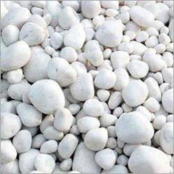 Snow White Quartz Pebbles