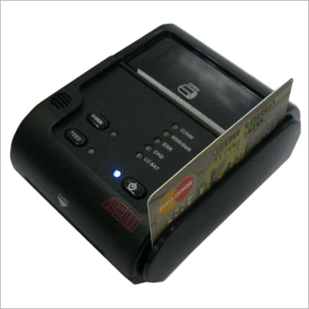 Bluetooth Thermal Printer With Magnetic Swipe Card Reader