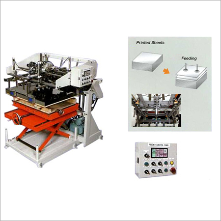 Steel Sheet Feeder Machine