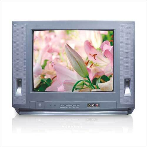 Colored CRT TV