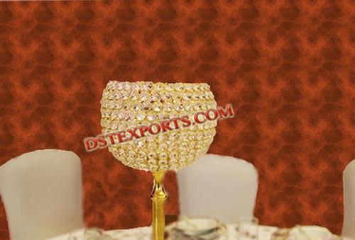 Latest Design Wedding Crystal Lamp Stand