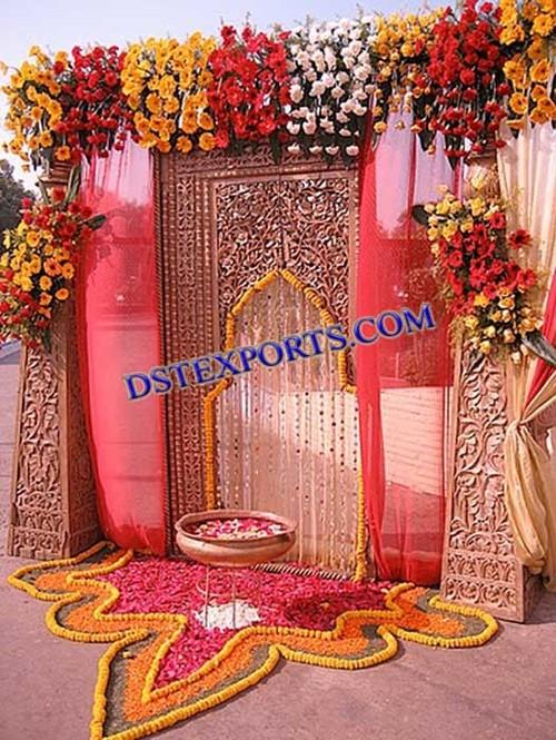 Indian Wedding Entrance Decorations Indian Wedding Entrance