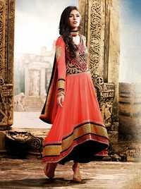 Violet Red Designer Outfit Dress