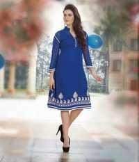 Blue Designer Dress