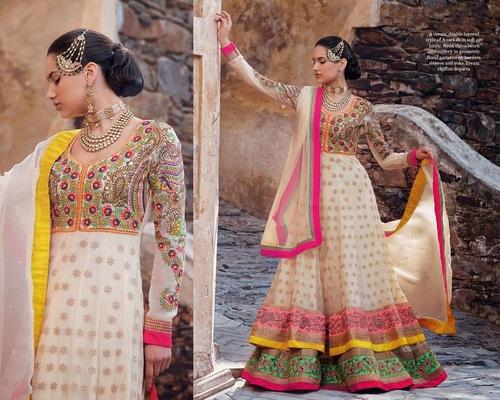 Gorgeous Colour Outfit Design Dress