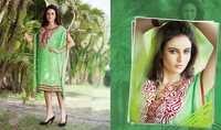 Light Green Designer Kurtis Dress