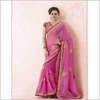 Pink Ladies Saree