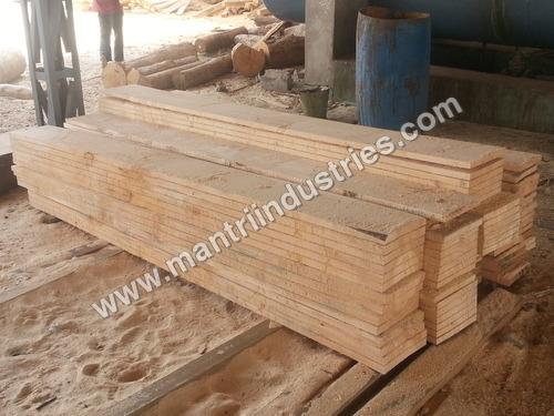 Air Dried Pine Wood Planks
