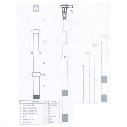 Discharging Rod / Operating Rod