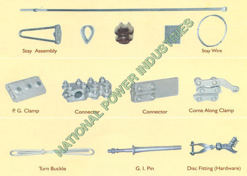 Transmission Line Materials & Hardwares