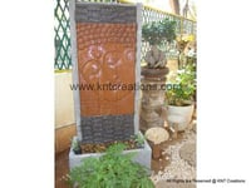 Stone Carved Buddha Fountain