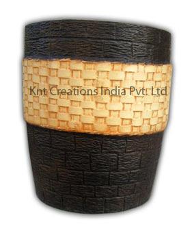 Basket Weave Planter