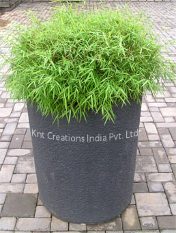 Stone Cylindrical Planter