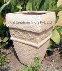 Stone Art Vertical Planter