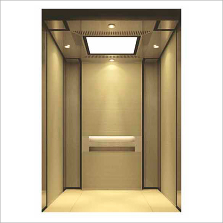 Stainless Steel Finish Elevators Cabins