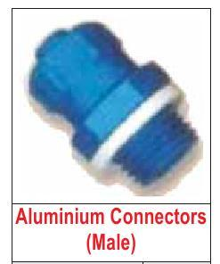 ALUMINIUM CONNECTORS (MALE)