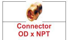CONNECTOR (OD X NPT)