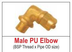 MALE PU ELBOW